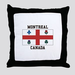 Montreal Canada Throw Pillow