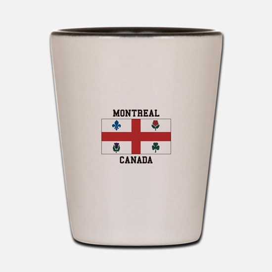 Montreal Canada Shot Glass