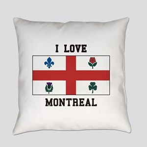 I Love Montreal Everyday Pillow