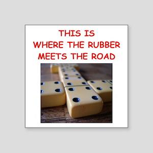dominoes joke Sticker