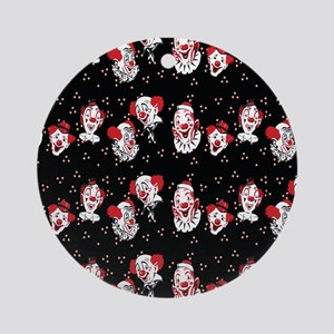 Clowns Ornament (Round)