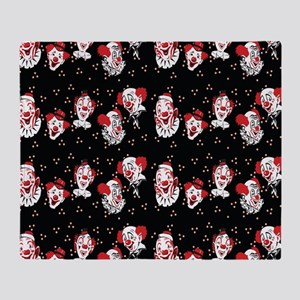 Clowns Throw Blanket