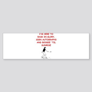 horseshoes joke Bumper Sticker