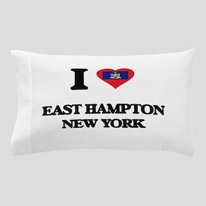 I love East Hampton New York Pillow Case