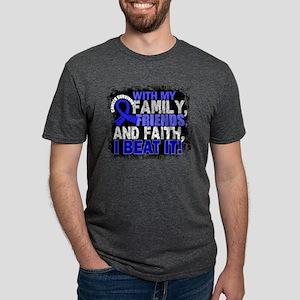 Rectal Cancer Survivor FamilyFriends T-Shirt