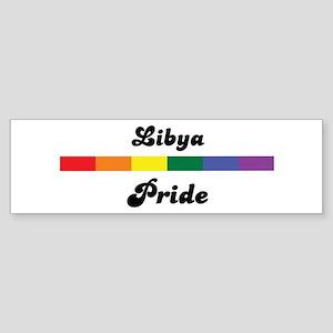 Libya pride Bumper Sticker