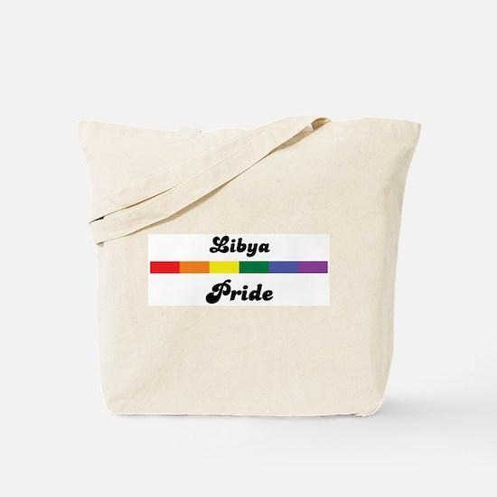 Libya pride Tote Bag