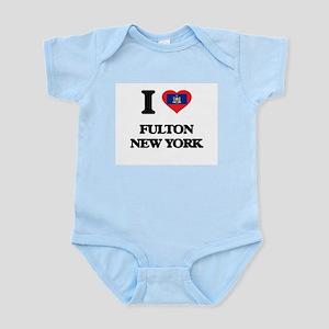 I love Fulton New York Body Suit