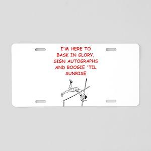 sports joke Aluminum License Plate