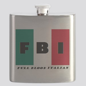 FBI Full Blood Italian Flask