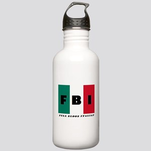 FBI Full Blood Italian Water Bottle