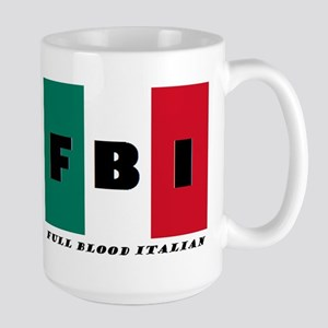 FBI Full Blood Italian Mugs
