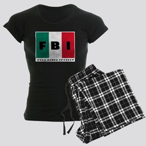 FBI Full Blood Italian Pajamas