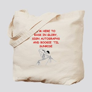 sports joke Tote Bag