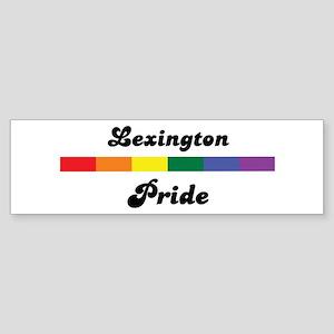 Lexington pride Bumper Sticker