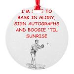 sports joke Ornament