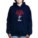 sports joke Women's Hooded Sweatshirt