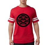 Overlapping waves in circle T-Shirt