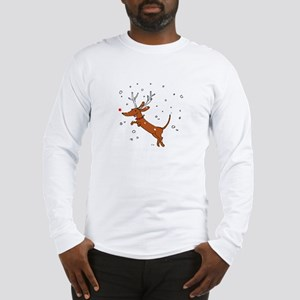 Reindeer Dachshund Long Sleeve T-Shirt