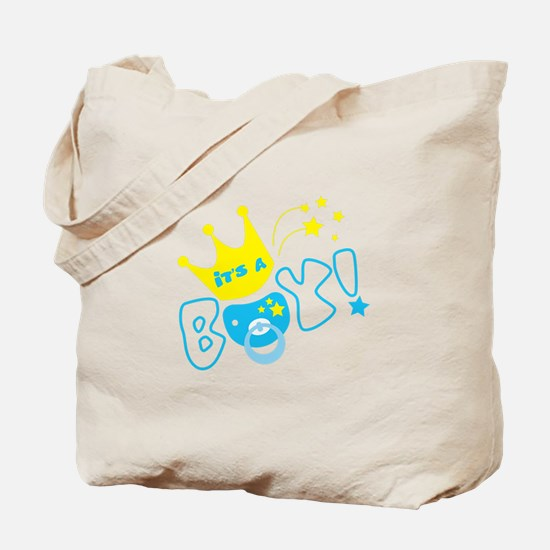 Its a boy pacifier Tote Bag
