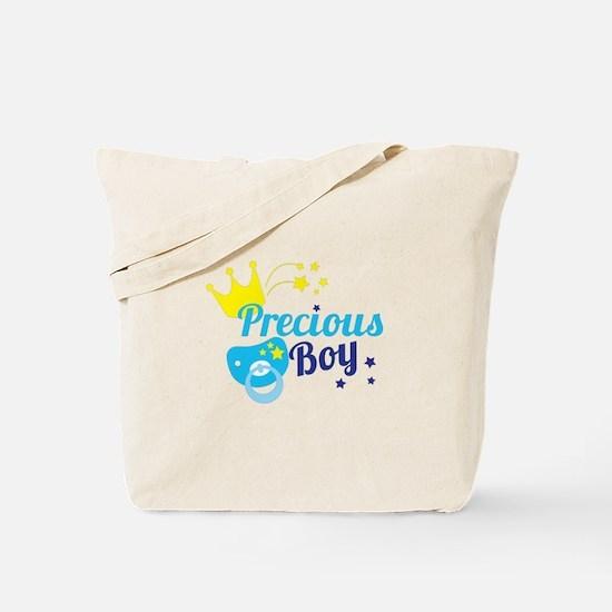 Precious boy crown Tote Bag