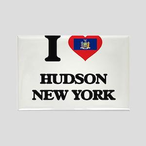 I love Hudson New York Magnets
