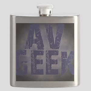 Avgeek Black Flask