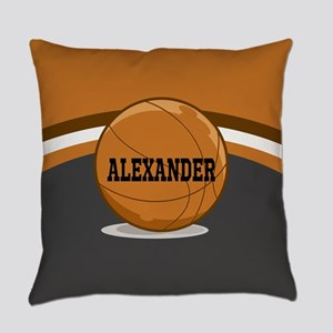 Stylish Custom Basketball Theme Everyday Pillow