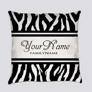 Custom Animal Print Everyday Pillow
