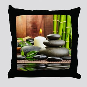 Zen Display Throw Pillow