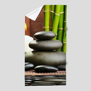 Zen Display Beach Towel