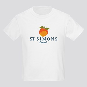 St. Simons Island - Georgia. Kids Light T-Shirt