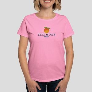 St. Simons Island - Georgia. Women's Dark T-Sh