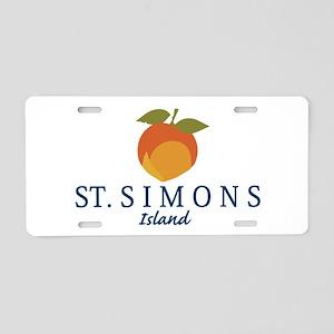 St. Simons Island - Georgia Aluminum License Plate