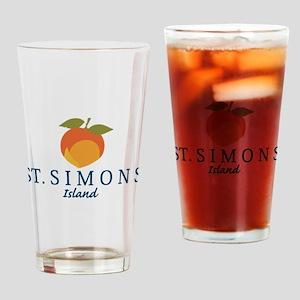 St. Simons Island - Georgia. Drinking Glass