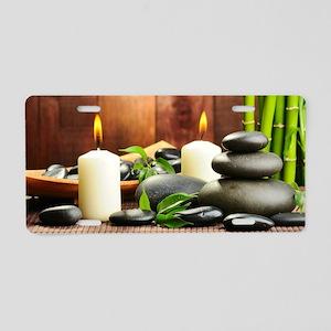 Zen Display Aluminum License Plate