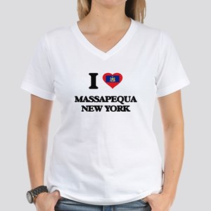 I love Massapequa New York T-Shirt