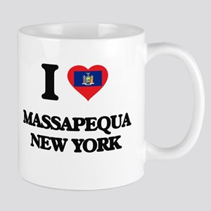 I love Massapequa New York Mugs