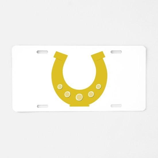 Lucky Charm Aluminum License Plate
