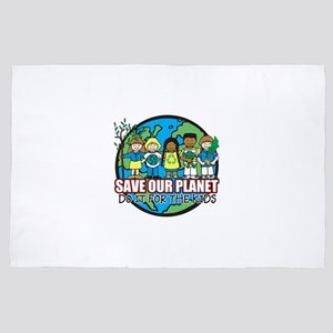 Save Our Planet 4' x 6' Rug