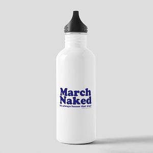 March copy Water Bottle