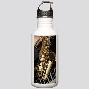 Saxophone And Piano  Stainless Water Bottle 1.0L