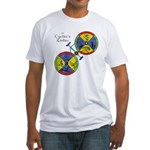Cyclist's Zodiac Fitted T-Shirt