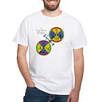 Cyclist's Zodiac White T-Shirt