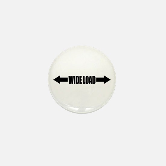 WIDE LOAD Mini Button