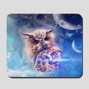 The owl Mousepad
