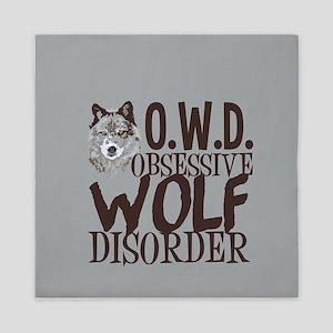 Funny Wolf Queen Duvet