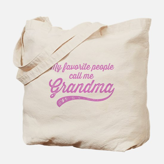 Call Me Grandma Tote Bag