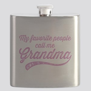 Call Me Grandma Flask