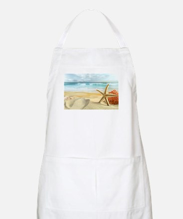 Starfish on Beach Apron
